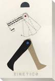 Kinetics Stretched Canvas Print