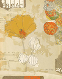 Collaged Botanicals II Posters av Katie Pertiet