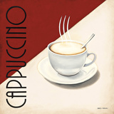 Cafe Moderne II Art by Marco Fabiano