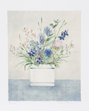 Blue and White Cup Limited Edition by Mary Faulconer