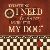 Need My Dog Posters par Kathy Middlebrook