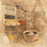 Cafe de Paris II Art by Albena Hristova