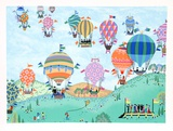 Balloon Race Edition limitée par Jack Hofflander