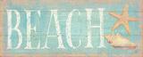 Pastel Beach Posters by Daphne Brissonnet