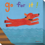 Go For It Reproduction transférée sur toile