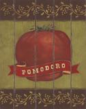 Pomodoro Poster par Stephanie Marrott