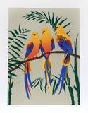 Three Tropical Birds Limited Edition by Anne Nipper