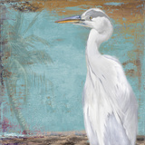 Tropic Heron II Print by Patricia Quintero-Pinto