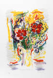 Red Bouquet Limited Edition by Wayne Ensrud
