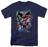 Justice League - The Coming Storm Tshirts