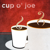 Cup o' Joe Print by Donna Slade
