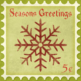 Holiday Stamp I Prints