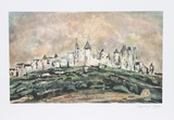 Carcassone Collectable Print by Lloyd Lozes Goff