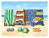 Sandals and Seats Prints by Scott Westmoreland