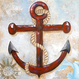 Anchors Away Prints by Gina Ritter