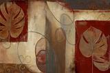Inspiration in Crimson Prints by Patricia Quintero-Pinto