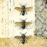 Golden Bees n Butterflies No. 1 Plakater av Katie Pertiet