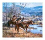 Apsaalooke Sentinel Posters by Martin Grelle