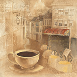 Cafe de Paris I Prints by Albena Hristova