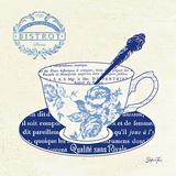 Blue Cups I Kunstdrucke von Stefania Ferri
