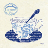 Blue Cups I Prints by Stefania Ferri