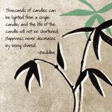 Glück, Englisch Kunstdrucke von Linda Woods