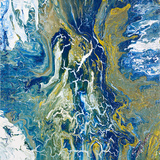 Tropical Storm I Kunstdrucke von Roberto Gonzalez