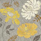 Morning Tones Gold I Prints by Daphne Brissonnet