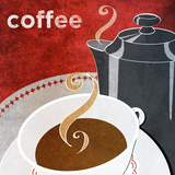 Coffee Prints by Donna Slade