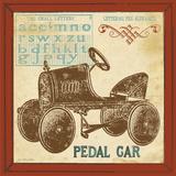 Vintage Pedal Car Kunstdrucke von Jo Moulton