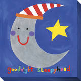 Goodnight Sleepyhead Stretched Canvas Print