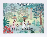 Jamaican Jungle Collectable Print by Jack Hofflander