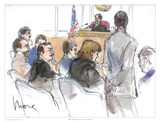Addressing the Court Láminas por Mona Shafer Edwards