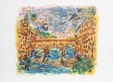 Ponte Vecchio Collectable Print by Wayne Ensrud