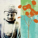 Buddha II Poster von Linda Woods