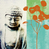 Buddha II Posters by Linda Woods