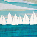 Afternoon Regatta II Posters by Dan Meneely