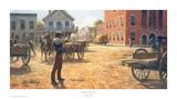 Wild Bill Hickock vs. Dave Tutt Kunstdrucke von Andy Thomas