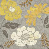 Morning Tones Gold II Plakat av Daphne Brissonnet