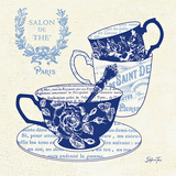 Blue Cups IV Prints by Stefania Ferri
