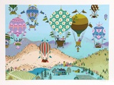 Spring Balloons Collectable Print by Jack Hofflander