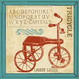 Vintage Tricycle Posters tekijänä Jo Moulton