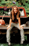 Britney Spears - Sitting on Tailgate of Truck Posters
