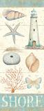 Pastel Coast Panel II Posters af Daphne Brissonnet
