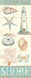 Pastel Coast Panel II Posters by Daphne Brissonnet