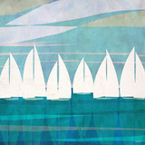 Afternoon Regatta I Prints by Dan Meneely