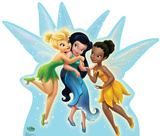 Disney Fairies Group Cardboard Cutouts
