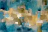 Downtown Blue Sky Poster von Lanie Loreth