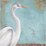 Tropic Heron I Prints by Patricia Quintero-Pinto