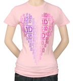 Juniors: 1D - New Heart T-Shirt
